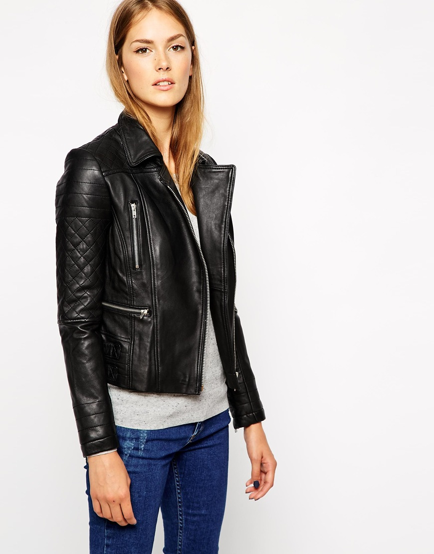 What To Wear in Autumn: Coat, Jacket or Mac? * FRUK MAGAZINE : leather quilted biker jacket - Adamdwight.com
