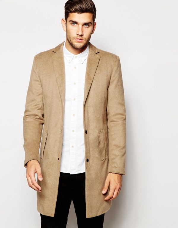 Native Youth Wool Overcoat £90.00 asos