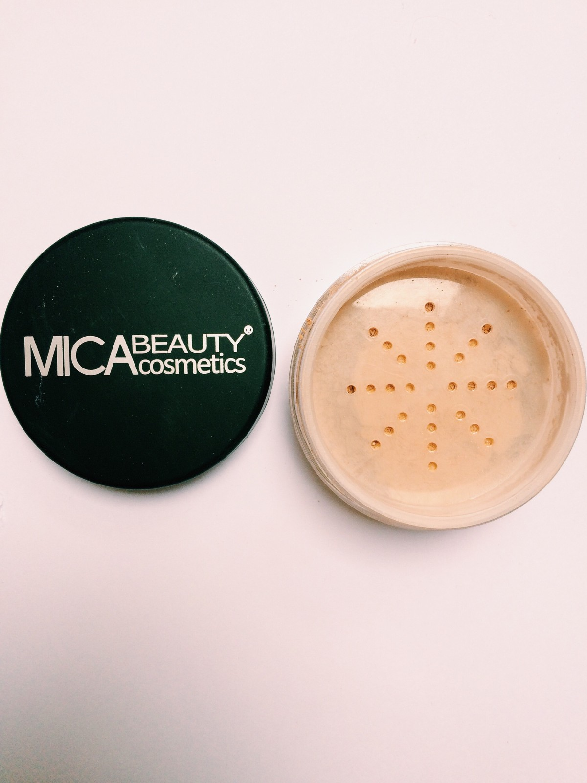 Mica Beauty mineral foundation