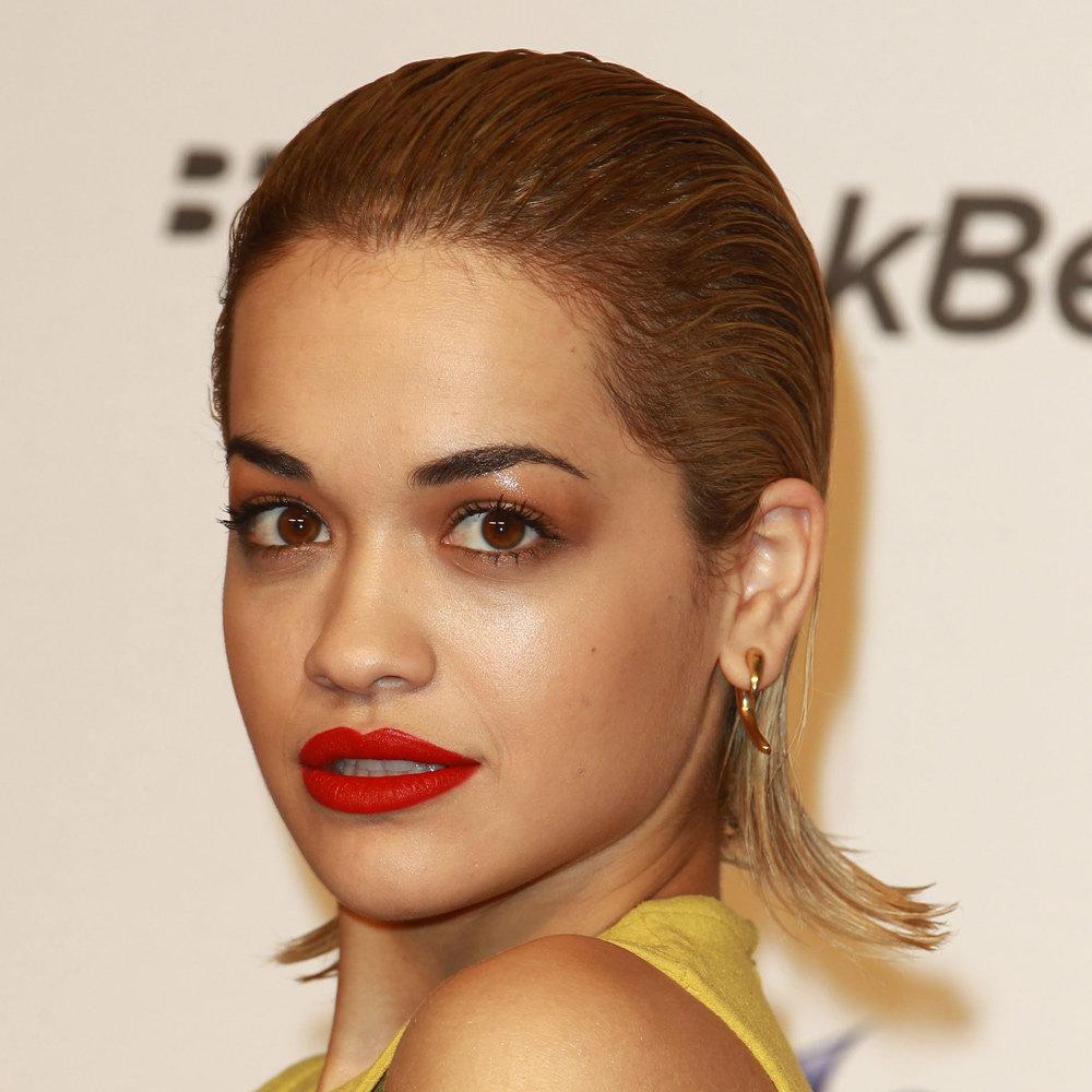 Rita Ora Wearing The Wet Look