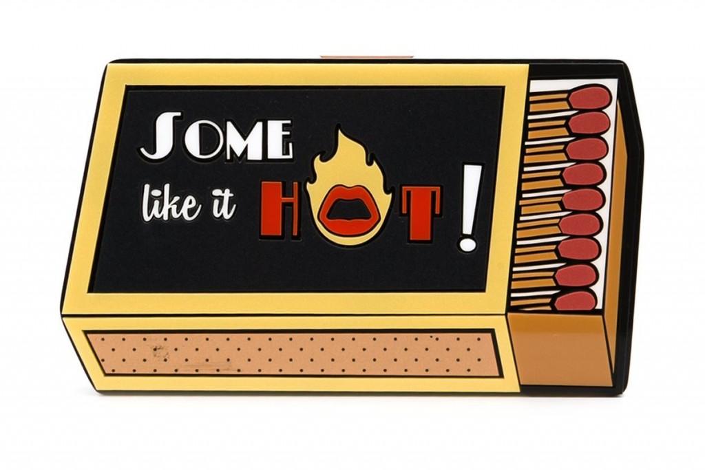 YAZBUKEY  'Some like it hot' clutch  £932.68