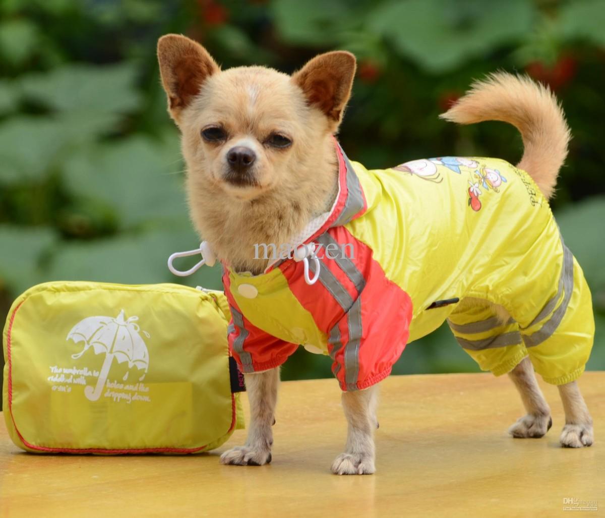 Dog Raincoat (Image: dhgate.com)