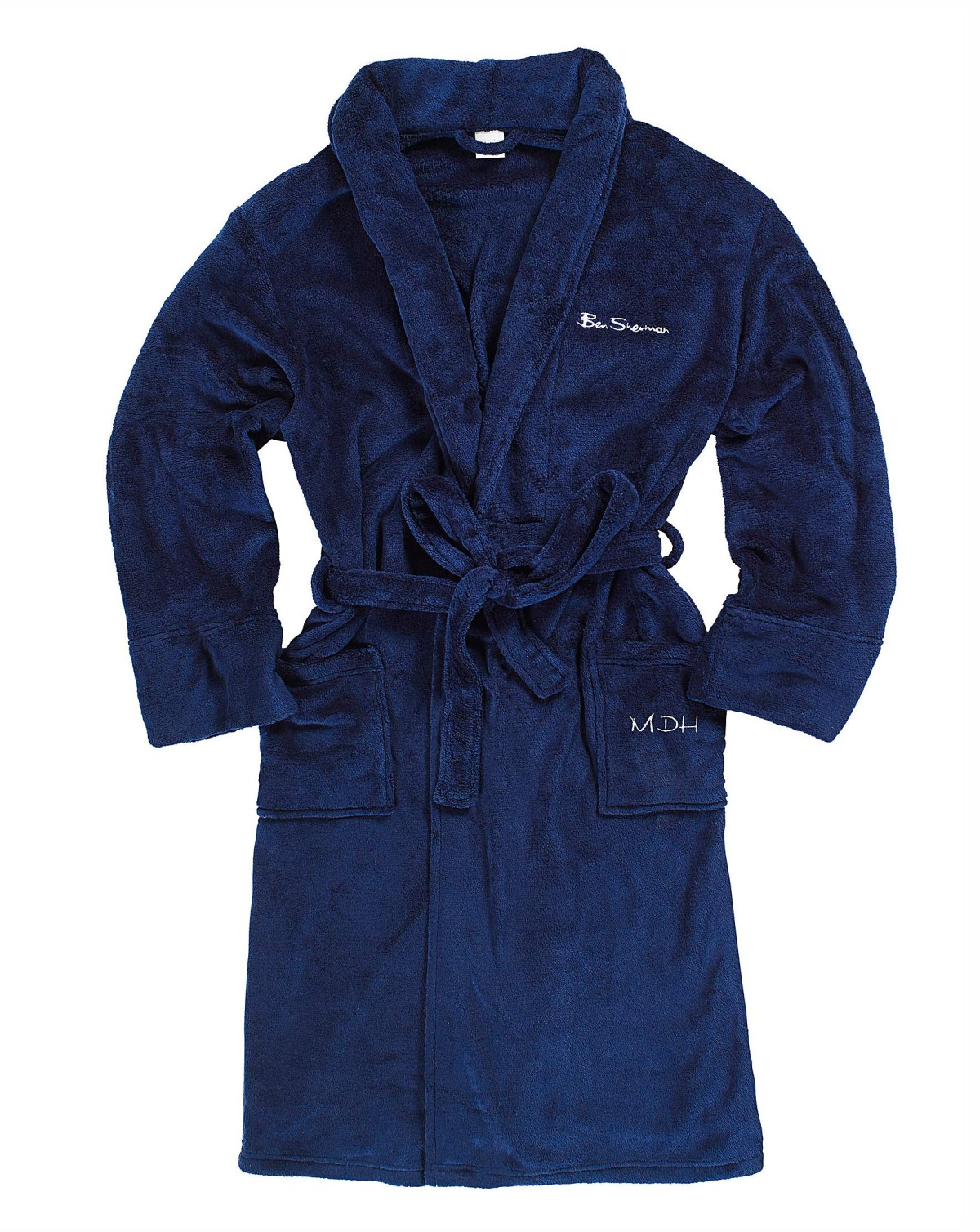 Ben Sherman fleece bathrobe