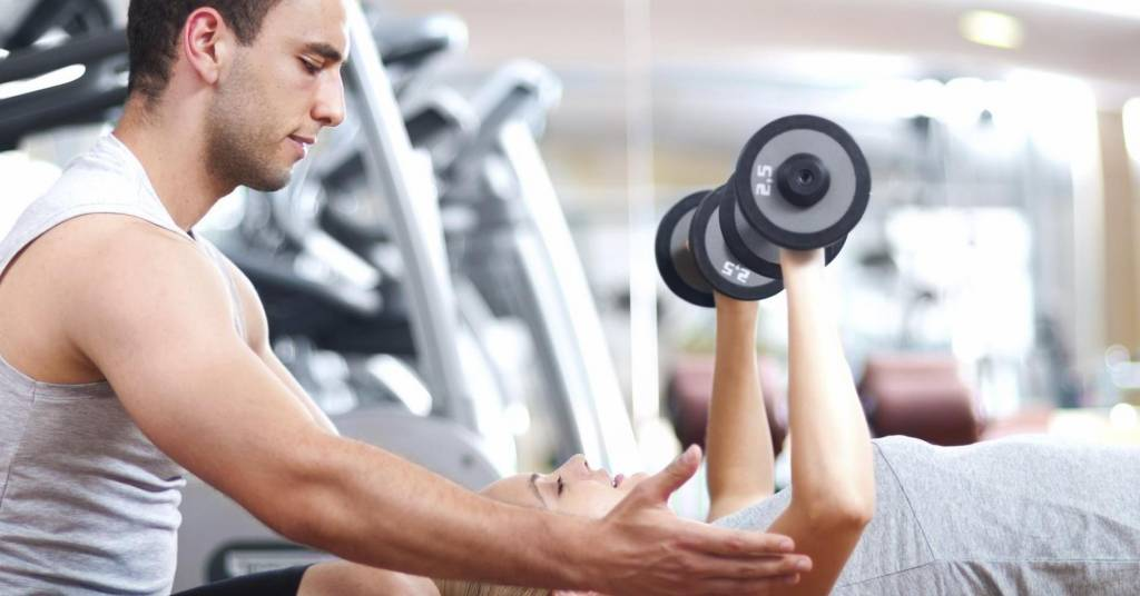 Personal trainer in L.A