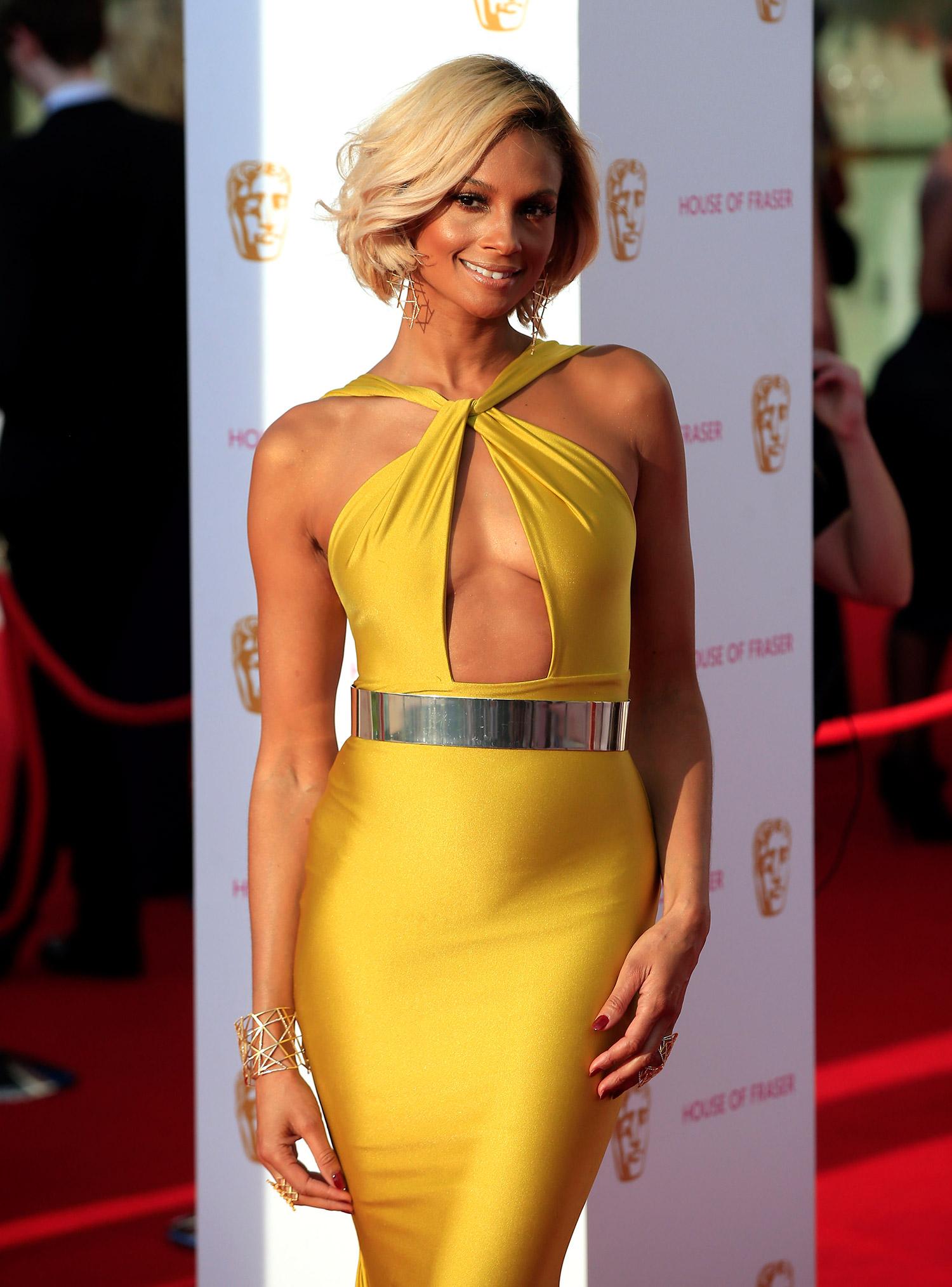 Alesha Dixon at the BAFTA's