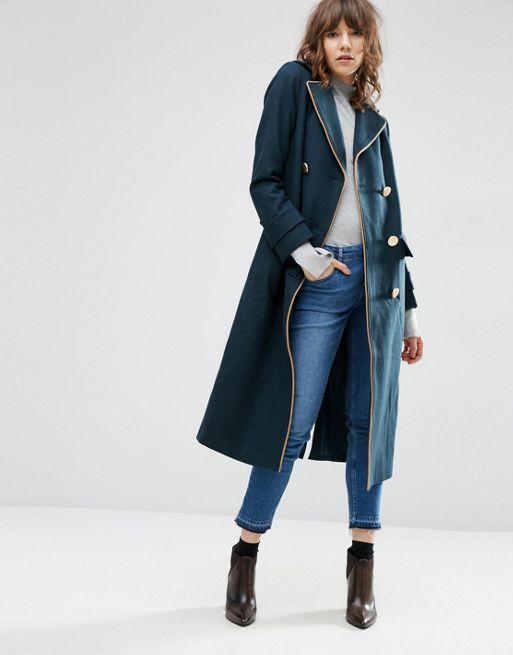 Asos military coat