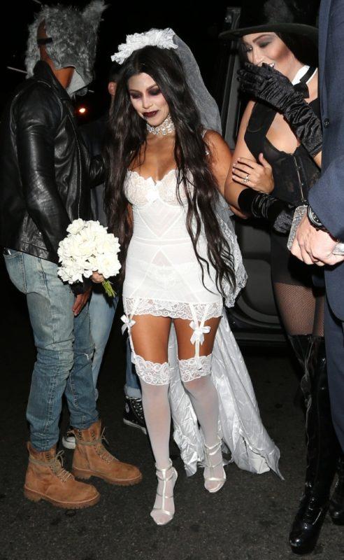 Kourtney Kardashian as Zombie Bride