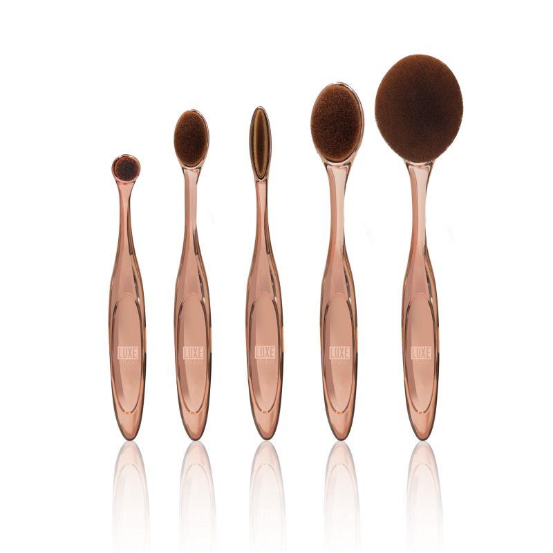 Luxe studio makeup brushes