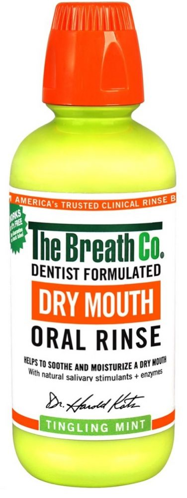 the breathco dry mouth rinse