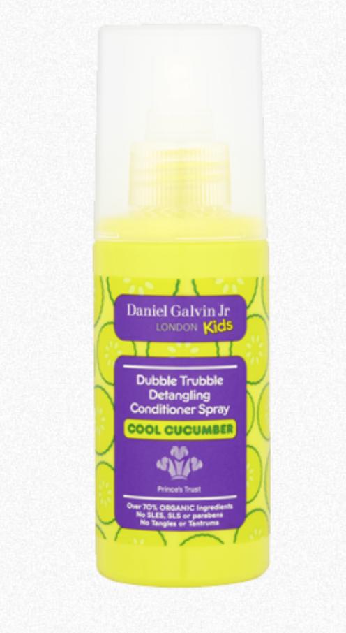 Dubbie trubble detangling spray