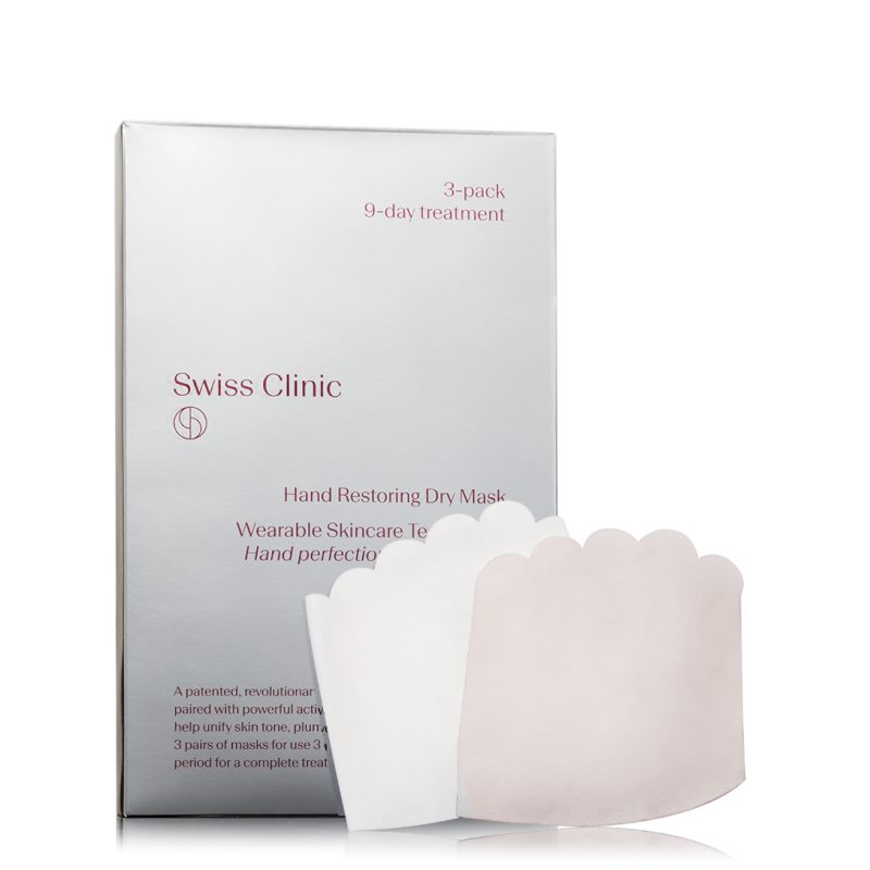 Swiss clinic hand mask