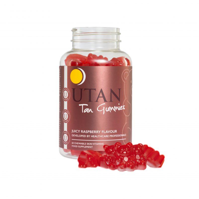 utan and tone tan gummies