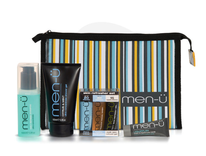 men u travel bag kit