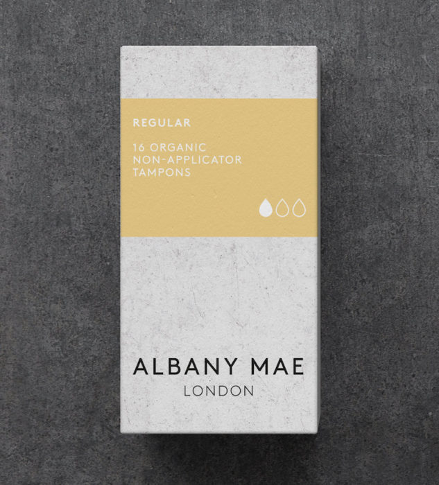 Albany mae tampon July new product
