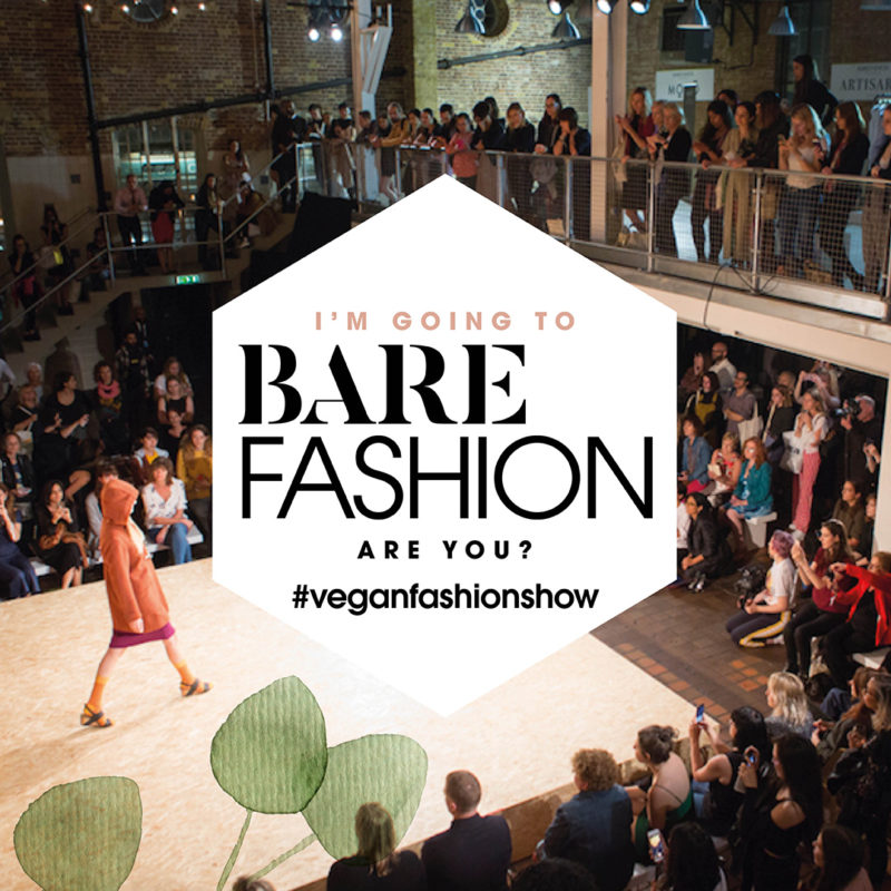 bare fashion vegan fashion show